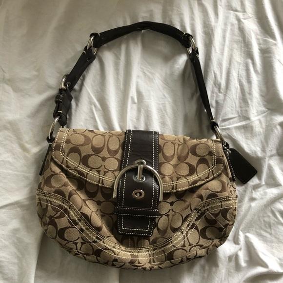 SOLD Coach Monogram Handbag